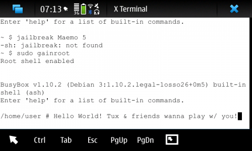 N900: Jailbroken on Arrival